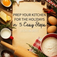 Prep for the holidays