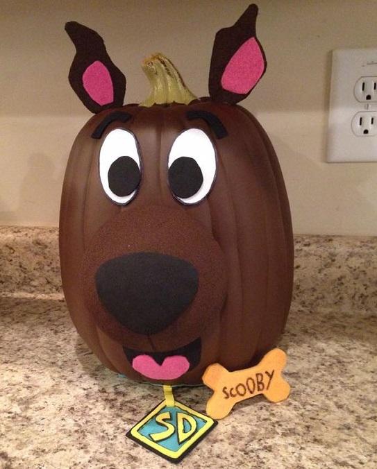 Scooby Doo Pumpkin
