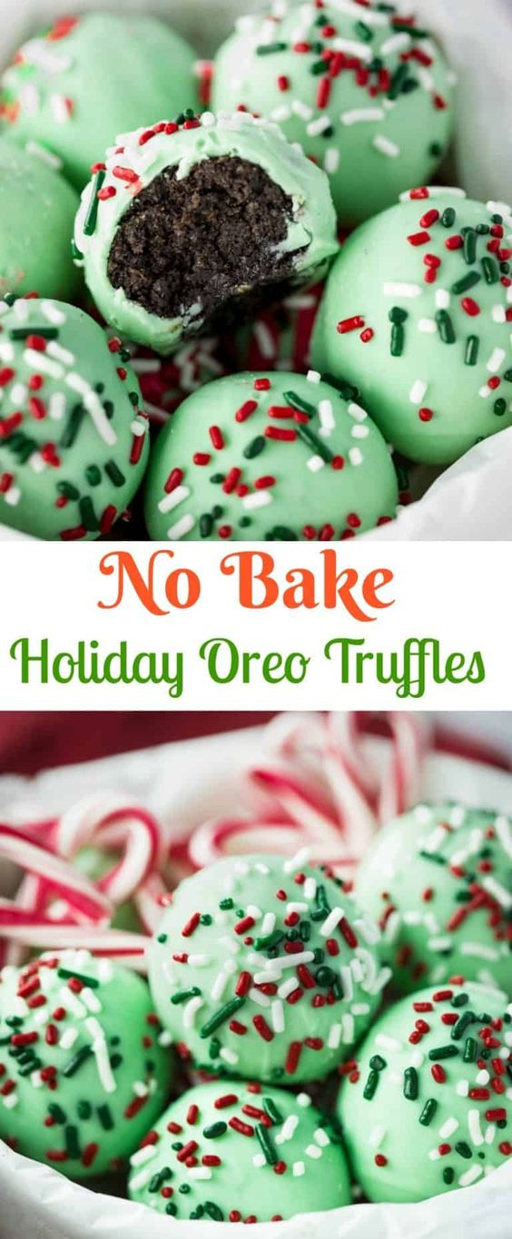 Oreo Truffles - A sweet outer chocolate shell surrounds a decadent, chocolate Oreo filling. No baking necessary and only 5 ingredients needed!