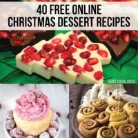 Free Christmas Dessert Recipes