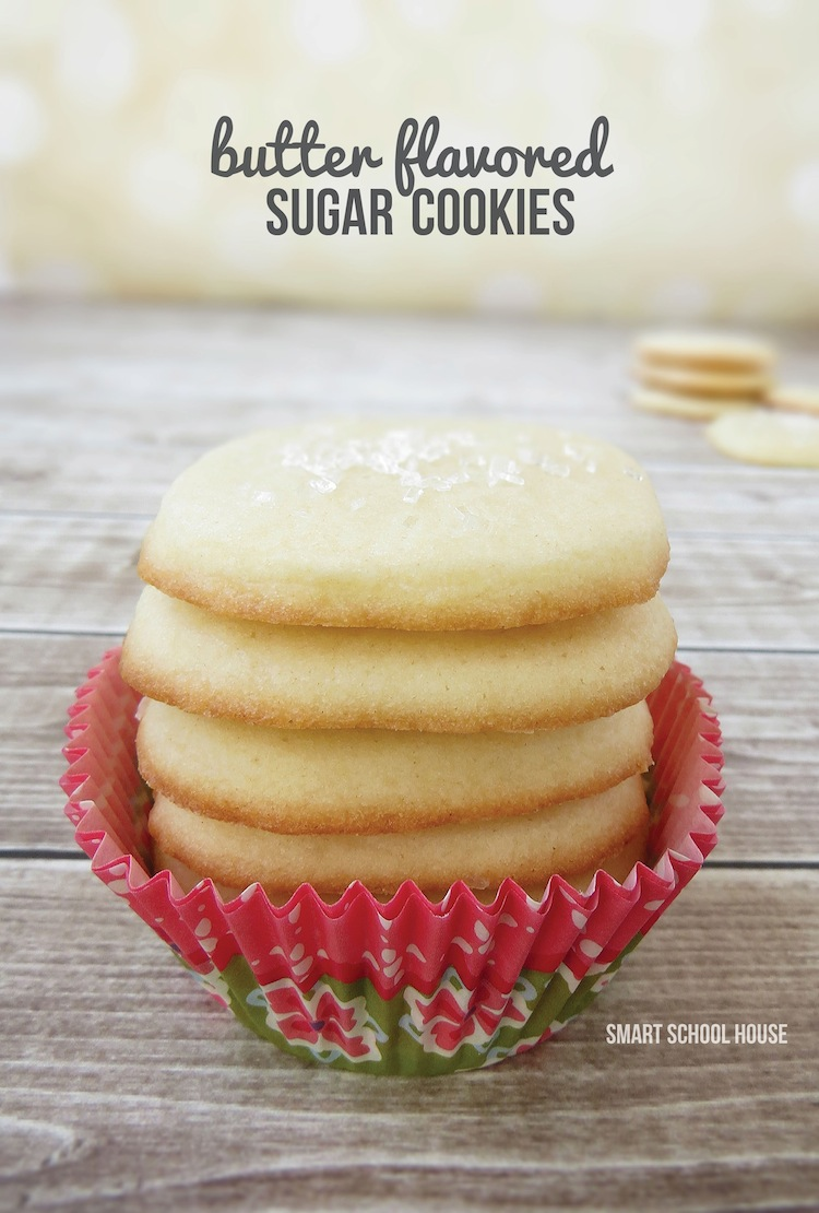 Butter Flavored Sugar Cookies! Drool.....