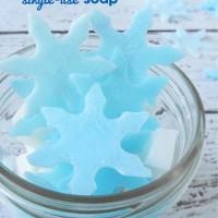 Frozen Fractals Single-Use Soap