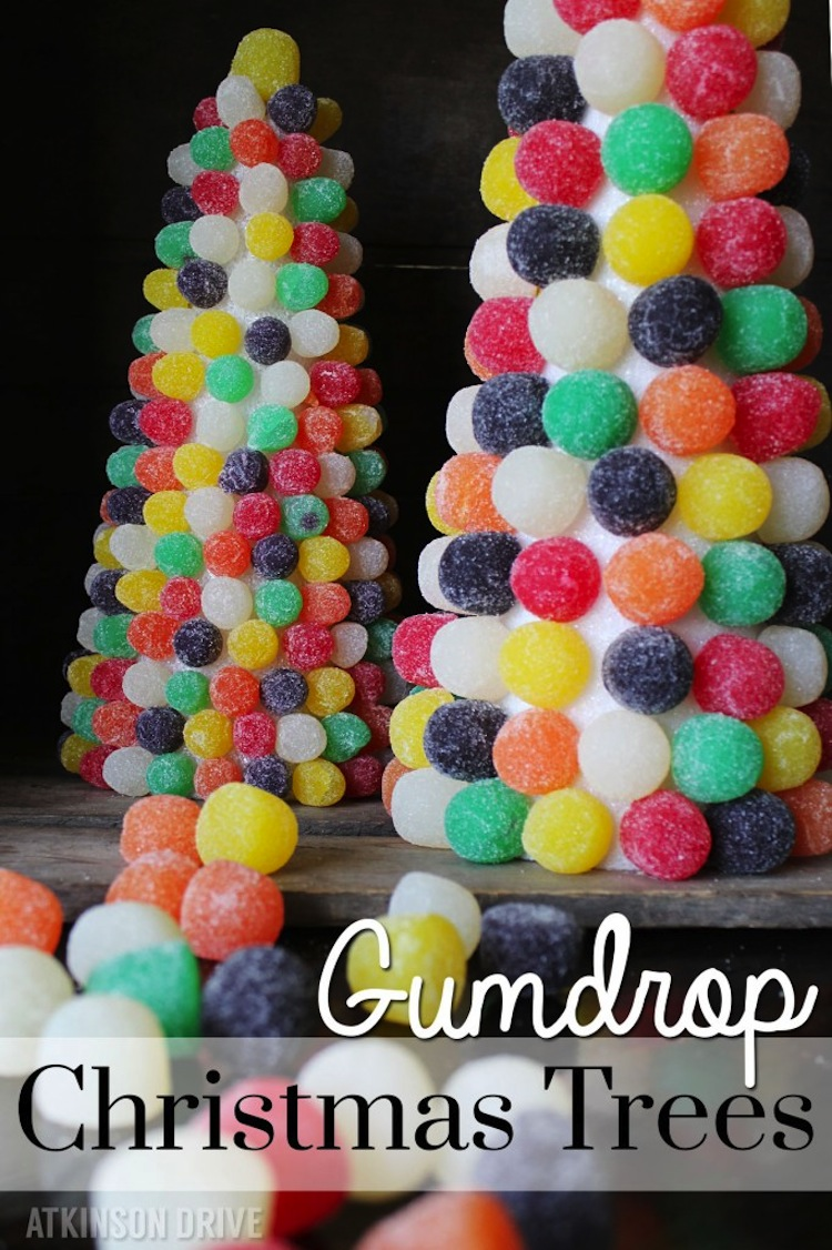 Gumdrop Christmas Trees
