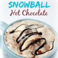 Snowball Hot Chocolate Recipe