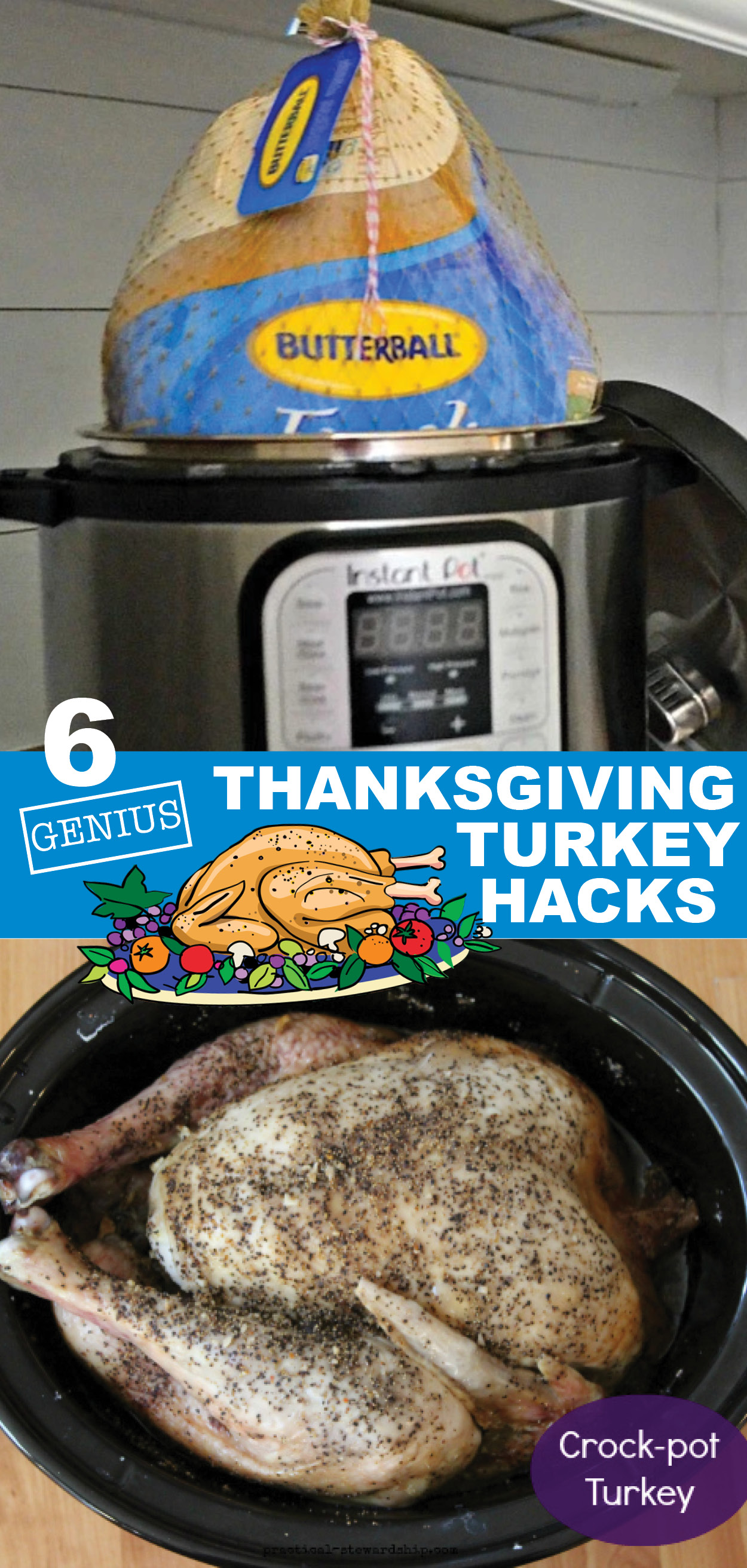 6 Genius Thanksgiving Turkey Hacks