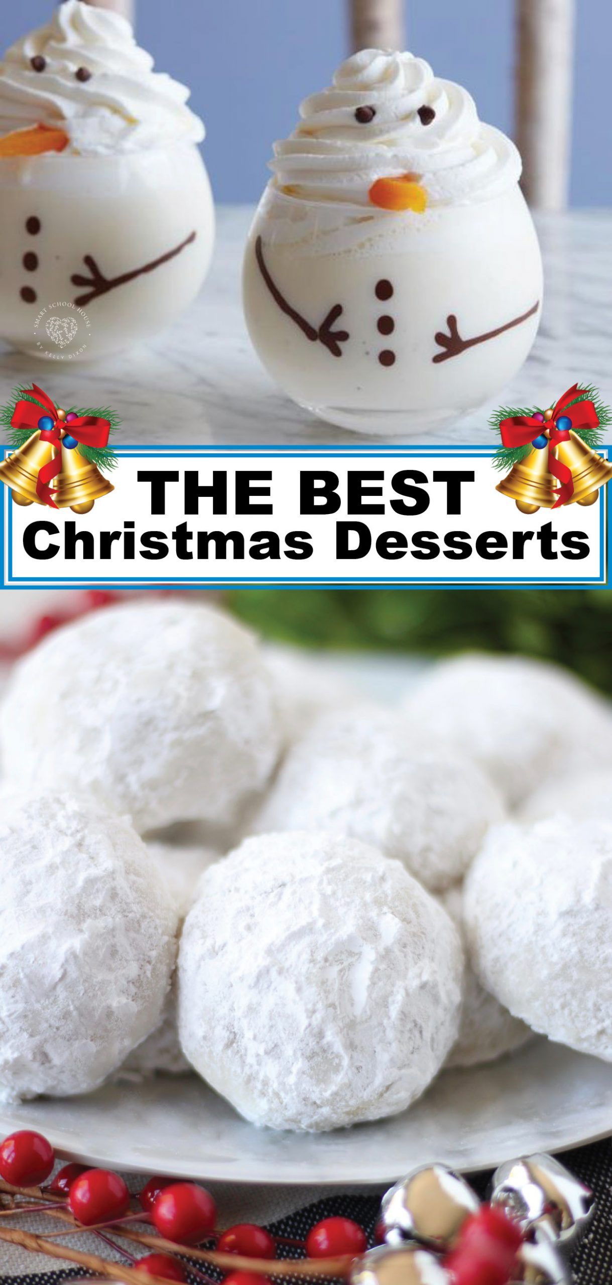 Fa la la la la your way in love with all of these Christmas Dessert Recipes! 'Tis the season to eat up. I'm feeling hungry already, aren't you?