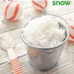 Organic Peppermint Bath Snow