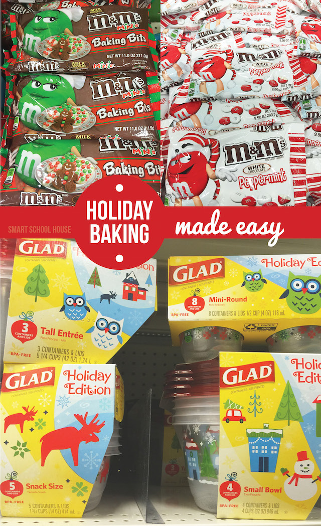 Holiday Baking with M&M and Glad