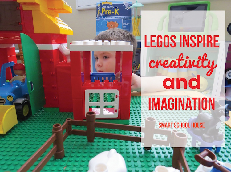 LEGO inspires creativity and imagination