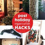 Post Holiday Organization Hacks