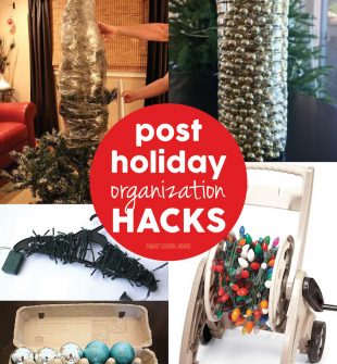 Post Holiday Organization Hacks