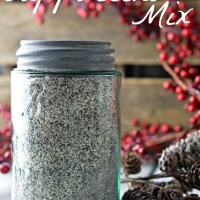 Homemade Cappuccino Mix by Little House Living