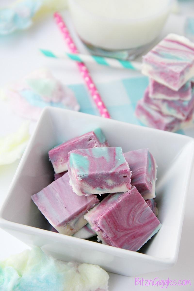 Cotton Candy Fudge Recipe