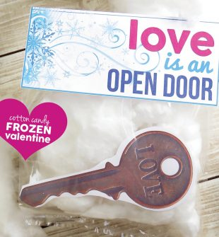 Love is an Open Door Valentine