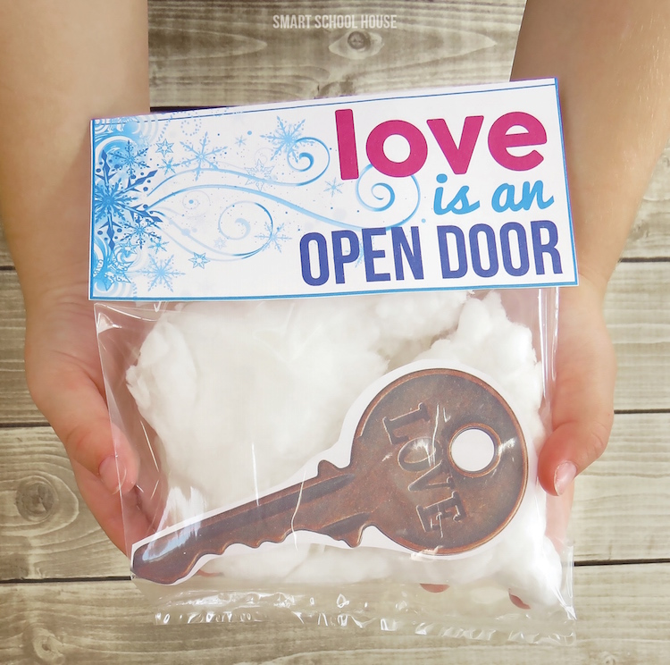 Love is an Open Door Valentine Printable