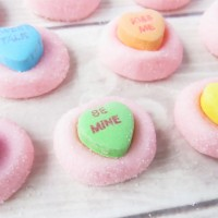 Strawberry Cream Valentine Melts