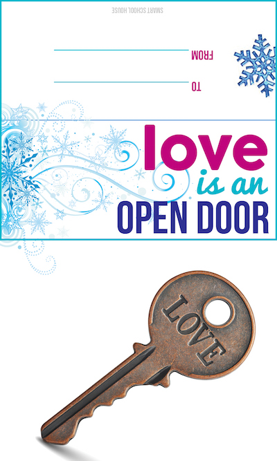 Love is an Open Door Free Valentine Printable