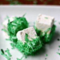 Homemade St. Patrick's Day Marshmallows
