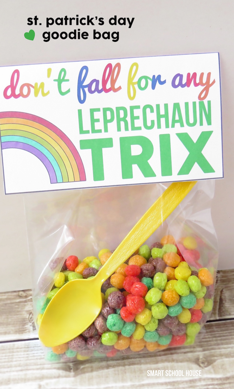Leprechaun Trix printable