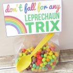 St. Patrick's Day Printable Leprechaun Trix