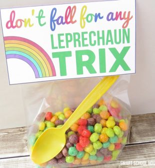 St. Patrick's Day Printable Leprechaun Trix