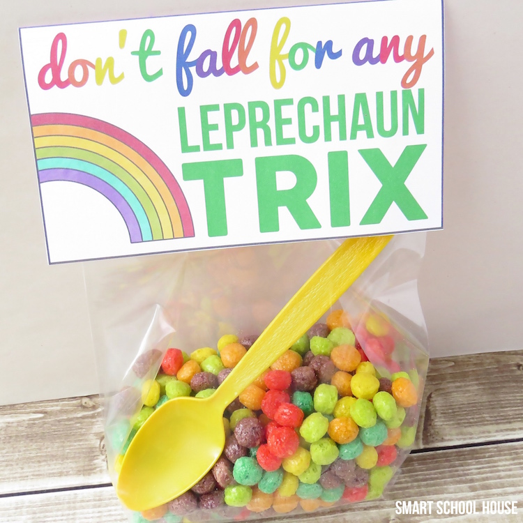 St. Patrick's Day Printable: Don't Fall for Any Leprechaun Trix!