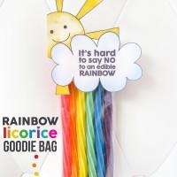 Edible Rainbow Printable