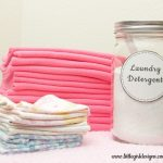 Homemade Cloth Diaper and Laundry Detergent