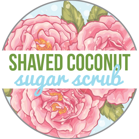 Shaved Coconut Sugar Scrub printable