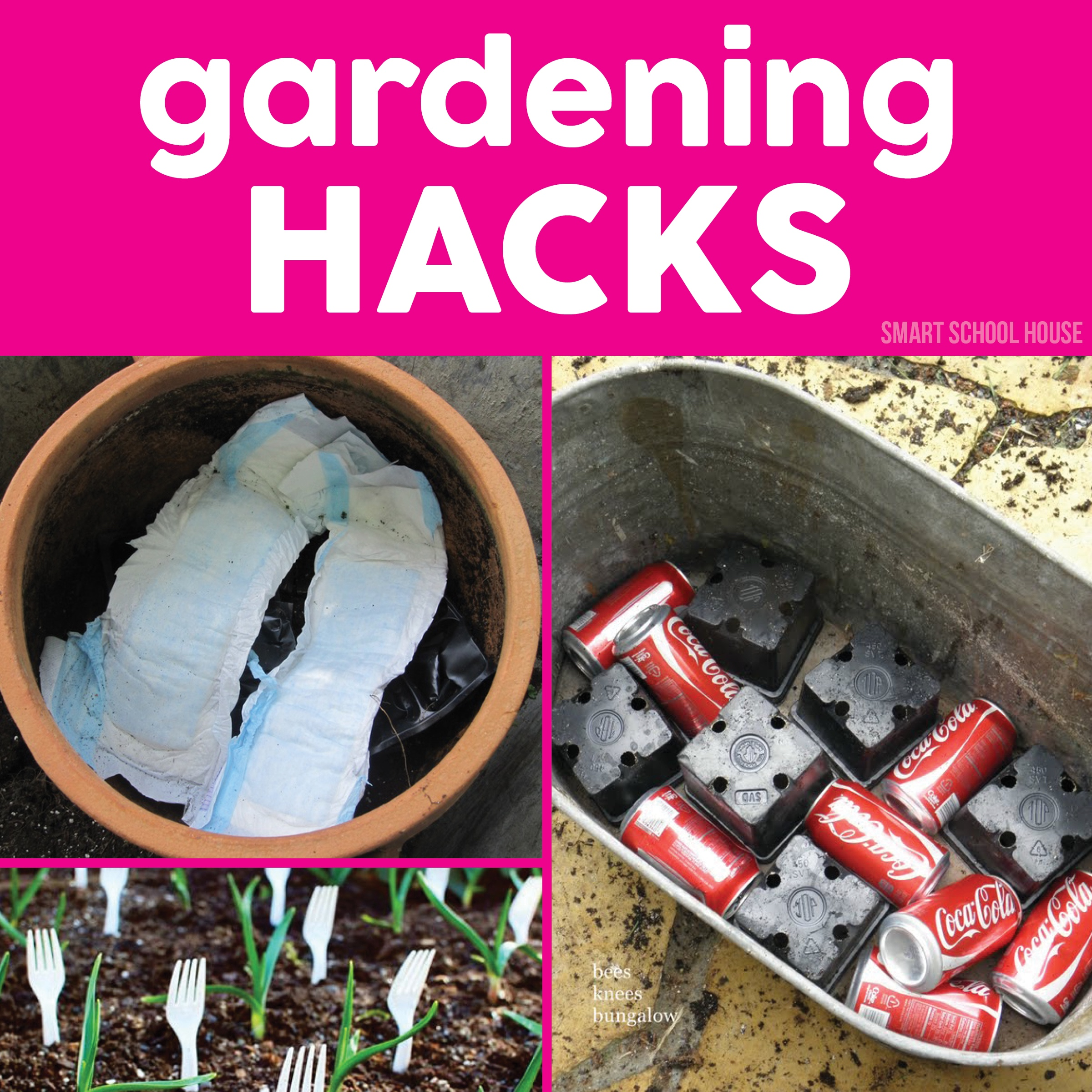 Gardening hacks smart school house for Garden design hacks