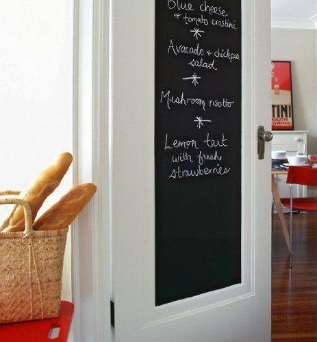 Pantry door chalkboard sticker