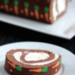 Easter Carrot Roll Cake
