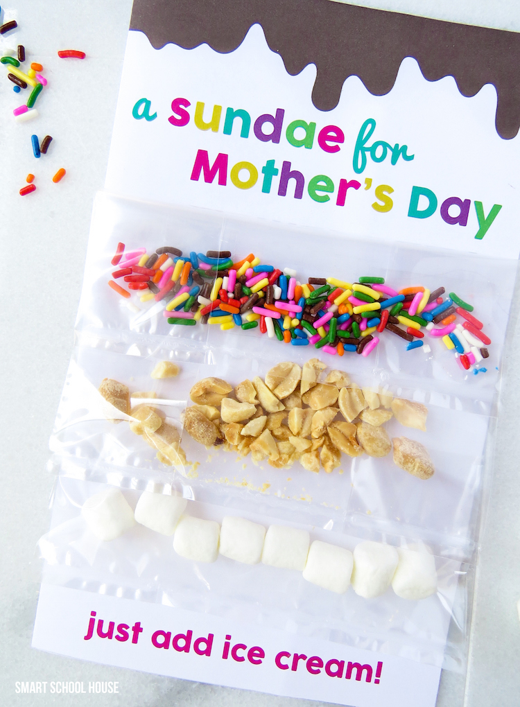 A Sundae For Mother 39 S Day Diy Mother 39 S Day Card