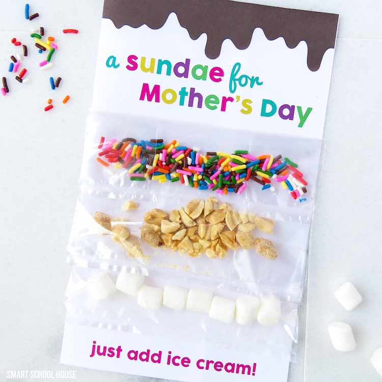 A Sundae for Mother's Day - Free Mother's Day Printable Card