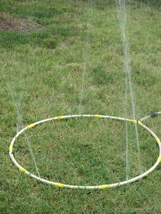 How to make a sprinkler out of a hula hoop PLUS 9 other super smart DIY Splash Park Hacks