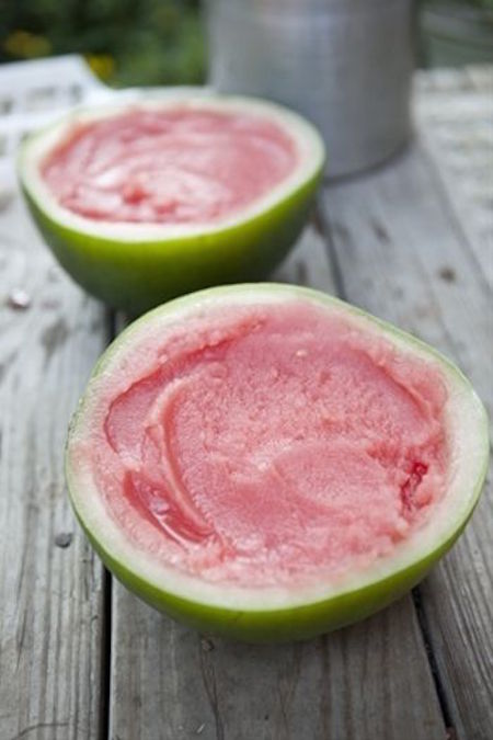 How to make a watermelon sorbet
