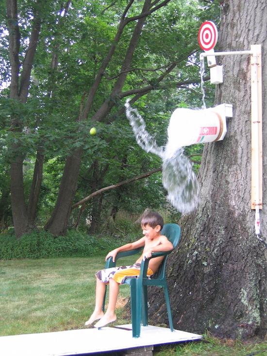 How to make a DIY Dunk Bucket PLUS 9 other super smart DIY Splash Park Hacks