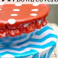 DIY Reusable Bowl Covers