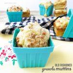 Old Fashioned Granola Muffins