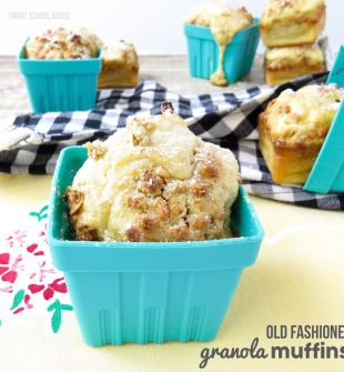 Old Fashioned Granola Muffins