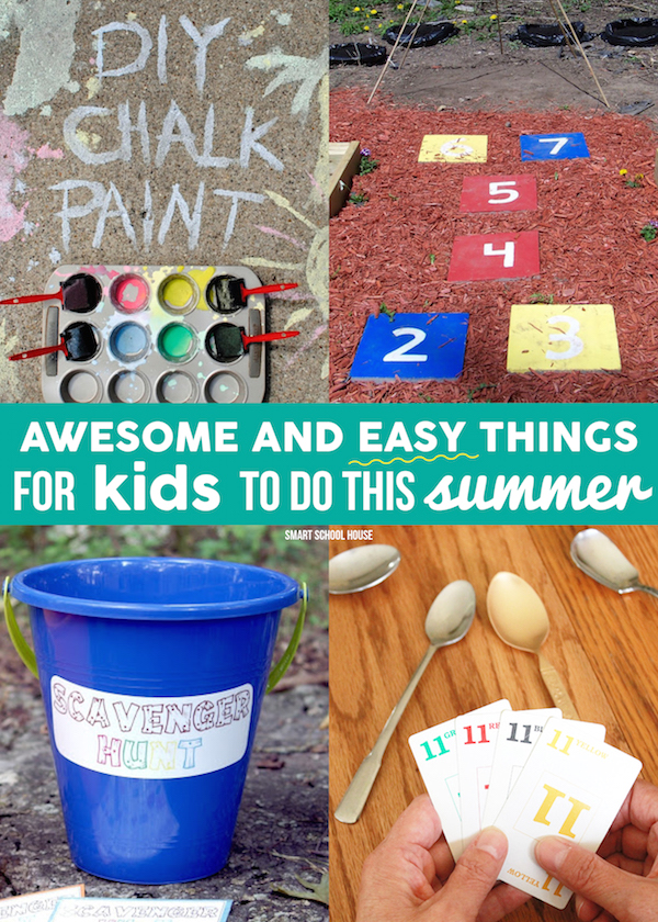 Awesome and Easy Things for Kids to do This Summer