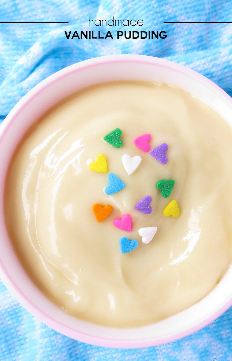 Handmade Vanilla Pudding Recipe
