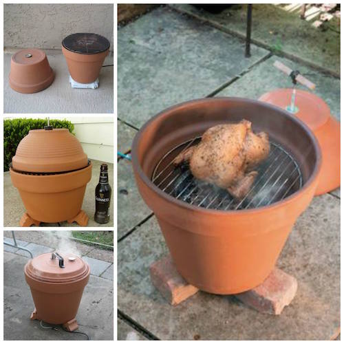 How to make a clay pot smoker. Very neat to try this summer!