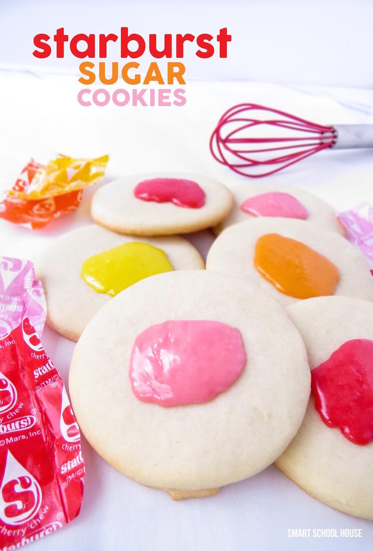 Starburst Sugar Cookies
