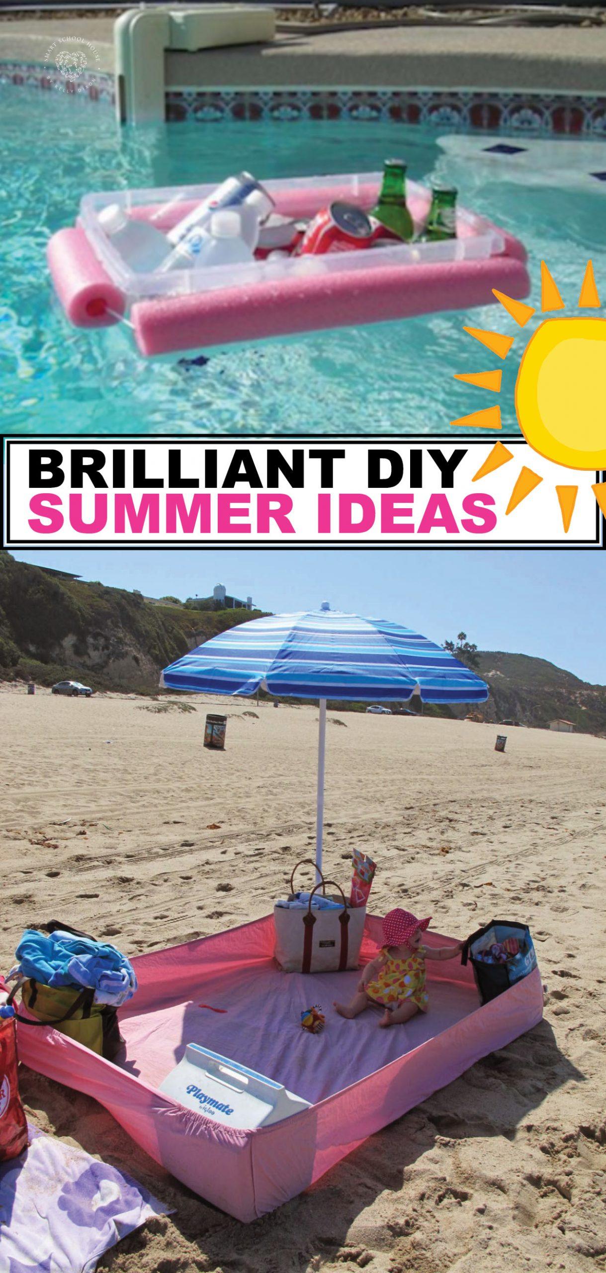 Brilliant DIY Summer Ideas
