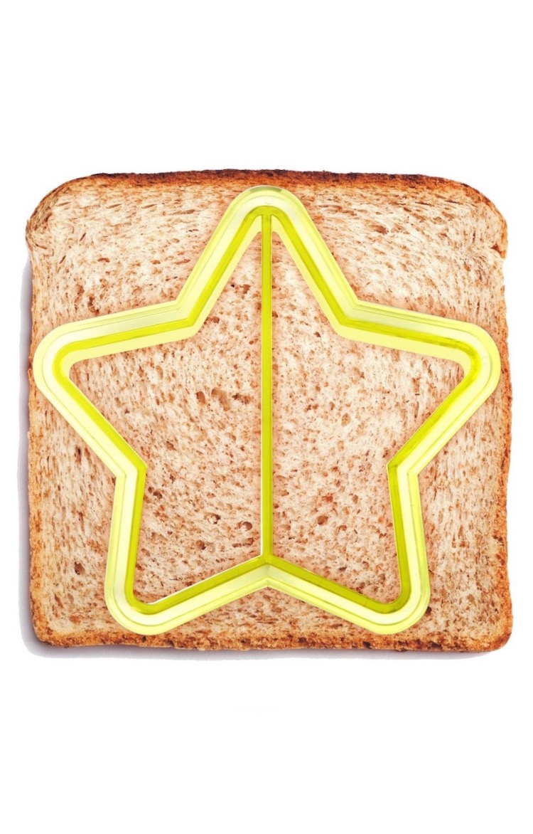 Do your kids still like the crust cut off? Mine too! Use one of these sandwich cutters to make the job easier for you but more fun for your kids