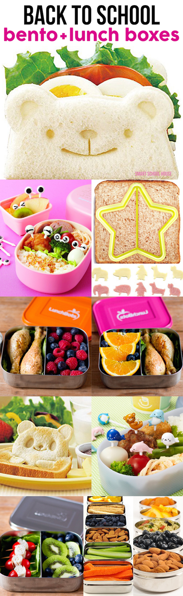 back to school bento lunch boxes. Black Bedroom Furniture Sets. Home Design Ideas