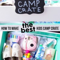 Kids Camp Crate - the ultimate camp care package for kids!