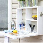 DIY Outdoor Beverage Shelf