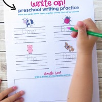 Writing Practice Worksheet